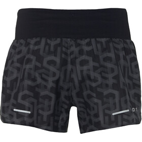 "asics 3,5"" Shorts Print Women Hex Type Performance Black"